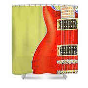 Guitar Pic Shower Curtain