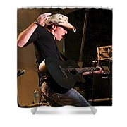 Guitar Player Shower Curtain
