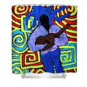 Guitar Solo Shower Curtain