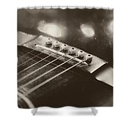 Guitar Strings Shower Curtain