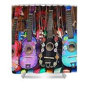 Guitarras Floriadas II Shower Curtain