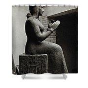 Gula, Mesopotamian Goddess Of Healing Shower Curtain