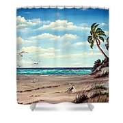 Gulf Dunes Shower Curtain