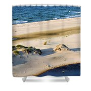 Gulf Of Mexico Dunes Shower Curtain