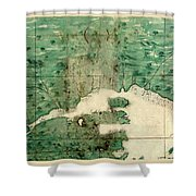 Gulf Of St Lawrence 1541 Shower Curtain
