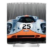 Gulf Porche 917 Shower Curtain