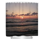 Gulf Sunset Shower Curtain