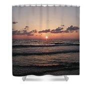 Gulf Sunset Shower Curtain