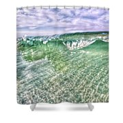 Gulf Waves Shower Curtain