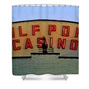 Gulfport Casino Shower Curtain