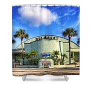 Gulfport Casino Shower Curtain by Tammy Wetzel