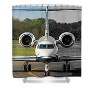 Gulfstream Aerospace G500 I-delo Frontal.nef Shower Curtain