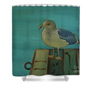 Gull And Ring Shower Curtain