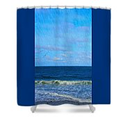 Gulls And Water Shower Curtain