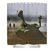 Gulls Dream Shower Curtain