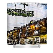 Gumbo File' Shower Curtain