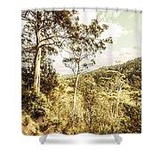 Gumtree Bushland Shower Curtain
