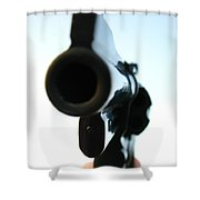 Gun Shower Curtain