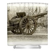 Gun At Fort Howard Shower Curtain