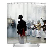 Gun Smoke Shower Curtain