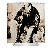 Gunfighter Shower Curtain