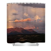 Gunnison Sunset Shower Curtain