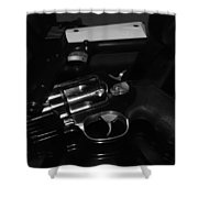 Guns And More Guns Shower Curtain