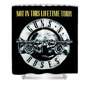 Guns And Roses Logo1 2017 Shower Curtain