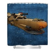 Gunship Shower Curtain