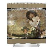 Gunslinger II Doc Holliday Shower Curtain