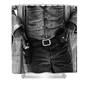 Gunslinger Tombstone Arizona Shower Curtain