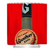 Gunther Beer Shower Curtain