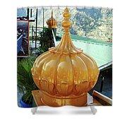 Gurdwara Dome Shower Curtain
