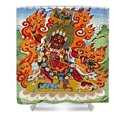 Guru Dragpo Shower Curtain