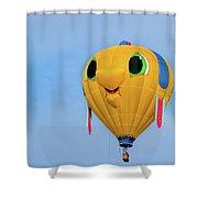 Gus T Guppy Shower Curtain