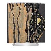 Gustav Klimt's Tears Shower Curtain