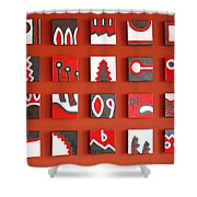 Gusto Shower Curtain