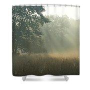 Guten Morgen Shower Curtain