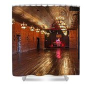 Guthrie Dance Hall  Shower Curtain