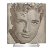 Guy Madison, Vintage Hollywood Actor Shower Curtain