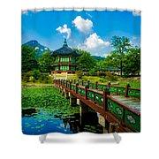 Gyeongbokgung Palace Shower Curtain