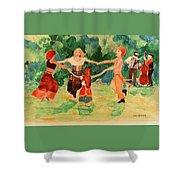 Gypsies Dancing Shower Curtain