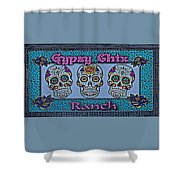 Gypsy Chix Ranch Shower Curtain