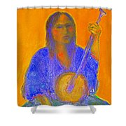 Gypsy Girl 11 Shower Curtain