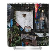 Gypsy Hut Shower Curtain