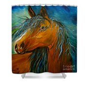 Gypsy Jenny Lee Discount Shower Curtain