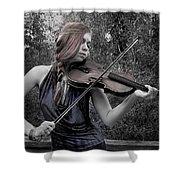 Gypsy Player II Shower Curtain
