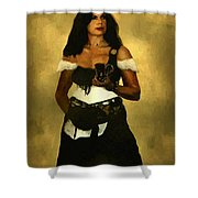 Gypsy Polly Shower Curtain