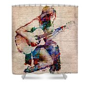 Gypsy Serenade Shower Curtain