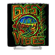 Gypsy Vibes  Shower Curtain